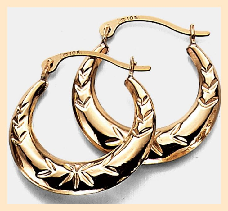 Mother's Day gift: love these hoop earrings
