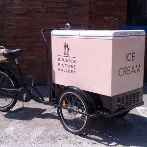 ice cream bike refrigerator