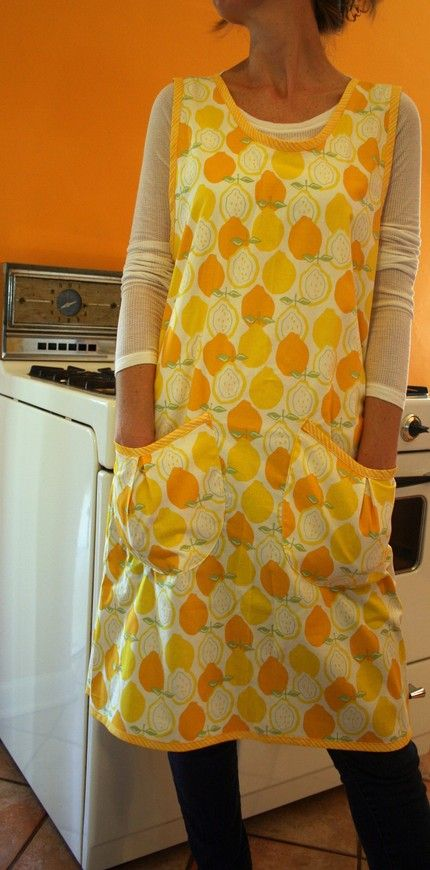 I don't know what the back of this apron looks like, but I like it! * * Update* * Simplicity 5201 daisy kingdom wrap around apron circa 2004-5