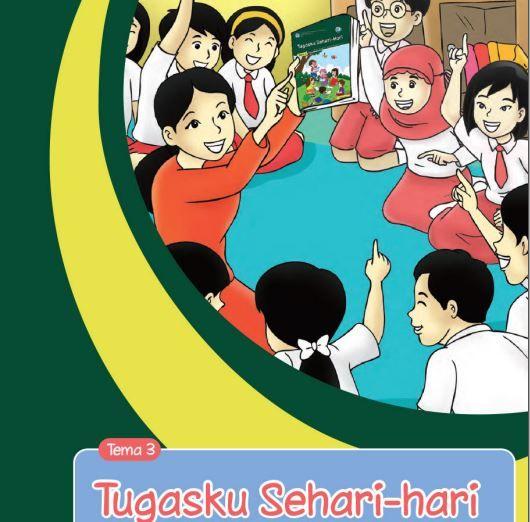 Download Buku Tematik Kurikulum 2013 Buku Guru  SD/MI Kelas 2 Tema 3 Tugasku Sehari-hari Edisi Revisi Format PDF