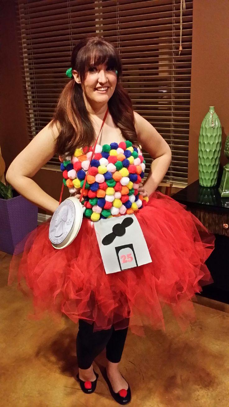 DIY Halloween Costume: Gumball Machine