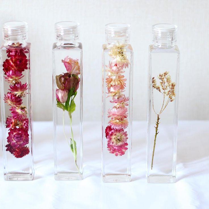 小さなお花畑を手のひらに♡ボトルフラワーに癒やされて - Locari(ロカリ)