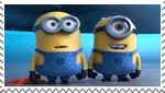 Despicable Me Minions Bottom Scene stamp by Captain-AlbertWesker