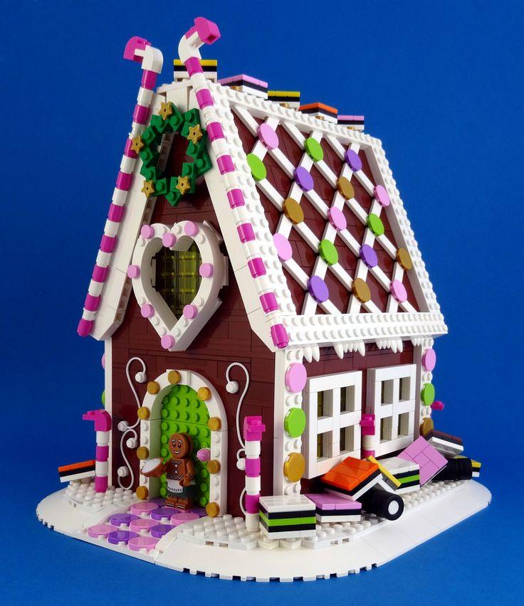 ~ Lego Mocs Holidays ~ Gingerbread House