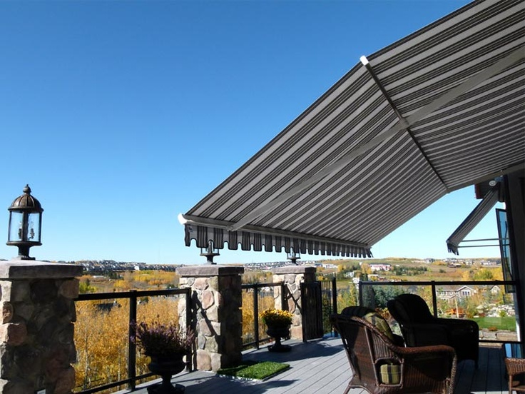Calgary Patio Awnings with Pitch Adjust Gallery | The ...