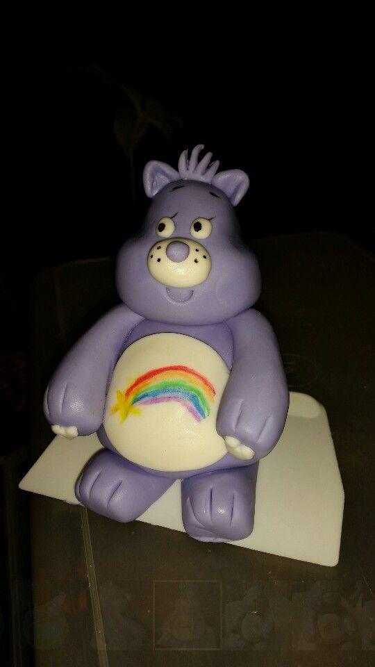 Fondant carebear cake
