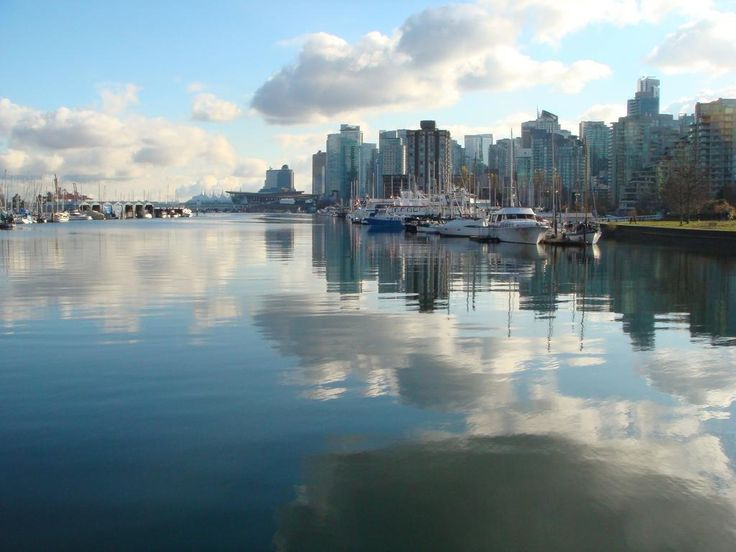 'Twas a beautiful day in Coal Harbour (Sunday) via WEVancouver