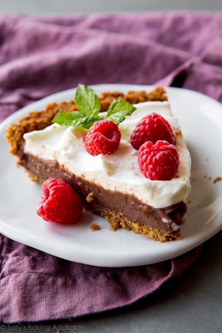 Homemade Chocolate Pudding Pie