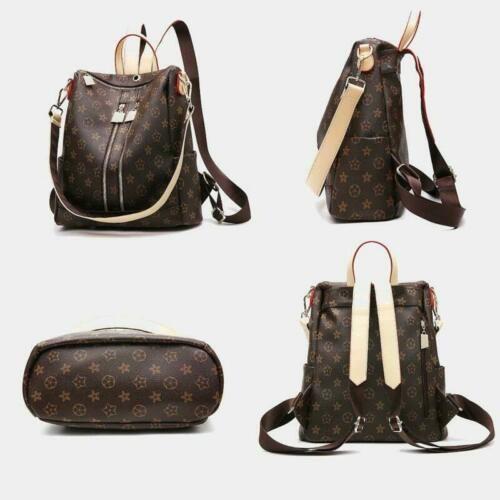 468d19cc0c0 Women Backpack Travel Handbag Girls Lady Synthetic Leather PU ...