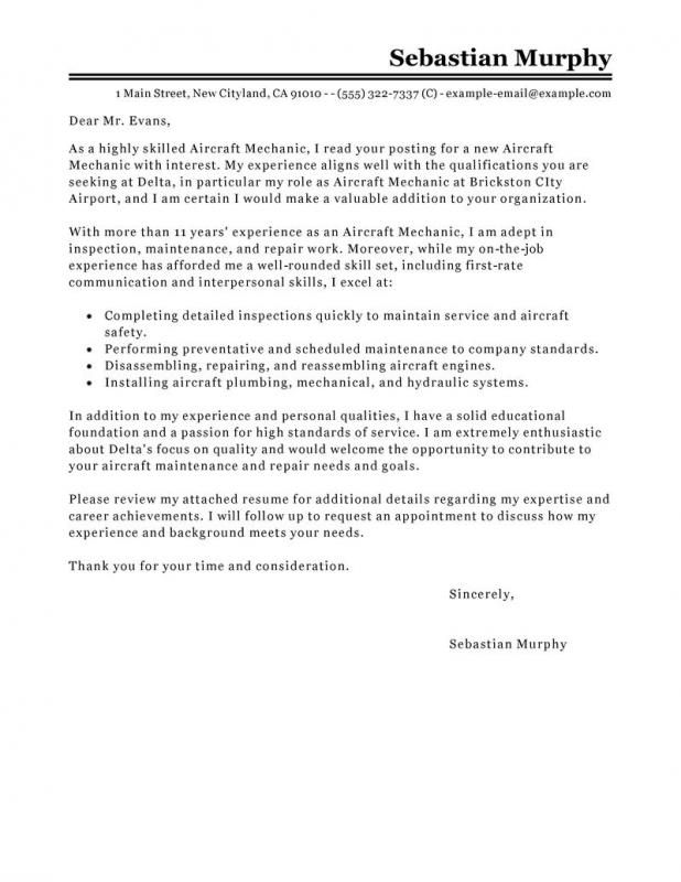 Aircraft Mechanic Resume Cover Letter from i.pinimg.com