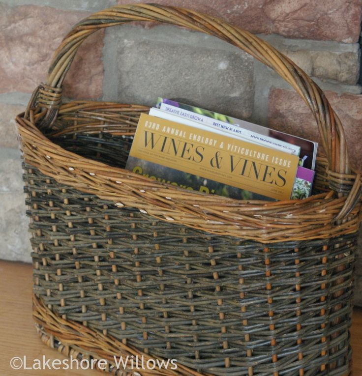 Basketry - lakeshore willows