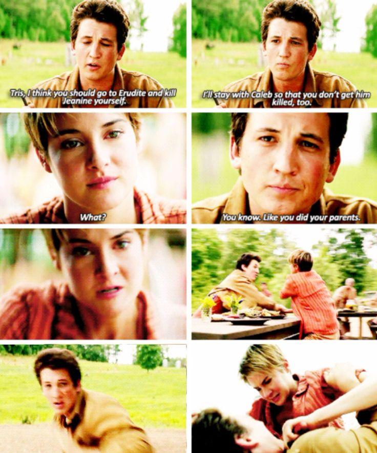 Peter deserves that so much ~Divergent~ ~Insurgent~ ~Allegiant~