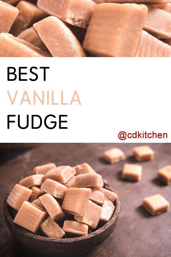 Recipe is made with nuts, sugar, evaporated milk, milk, salt, butter, vanilla extract |  CDKitchen.com