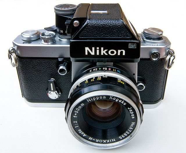 Nikon F2 Photomic, Nikkor 50mm f/2