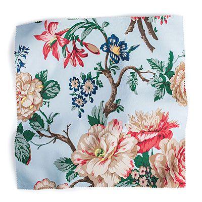 New Hampton Peony - Classic Southern Chintz Fabric Patterns - Southern Living