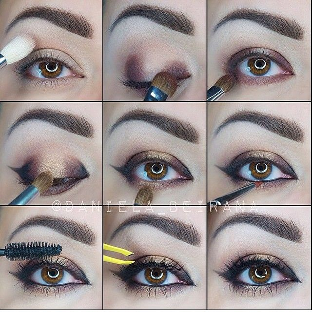 Step by Step with Morphe shadows 🌟😻we love this makeup look from @daniela_beirana @daniela_beirana 💄💋 follow her and come visit our store or www.morphebrushes.com for the best single shadows and palettes! #morphe #morphebrushes