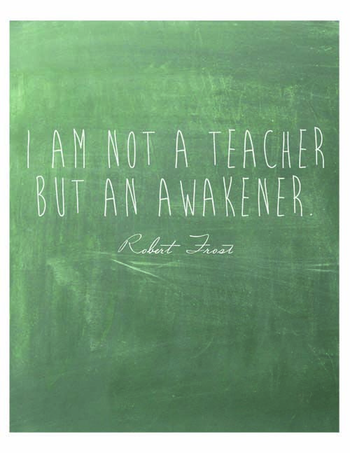 This applies to learning, too. I am not a student, I am awake. Link goes to a lovely homeschool planner from Art of Simple #unschooling