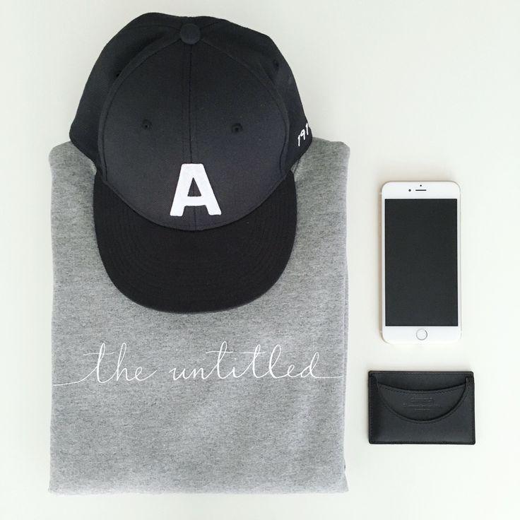 The Untitled Shop: Handwritten logo sweatshirt, Nine O Clock Gun hat, Shinola wallet, iphone6 #theuntitledshop #sweatshirt #calligraphy #moderncalligraphy #dailylook #dailyoutfit #fashion #fashiondiaries #lookbook #mystyle #ootd #outfit #ootdwatch #style #stylegram #styleinspo #streetlook #streetstyle #streetfashion #wiwt #whatiwore #shinola #boomcitybuckets #mensfashion #mensstyle #menssweatshirt