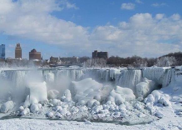 Chutes Niagara gelées