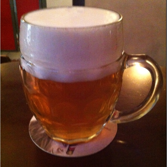 Great beer Bila Labut on my favorite place Mad Bar (www.madbar.cz) in Prague