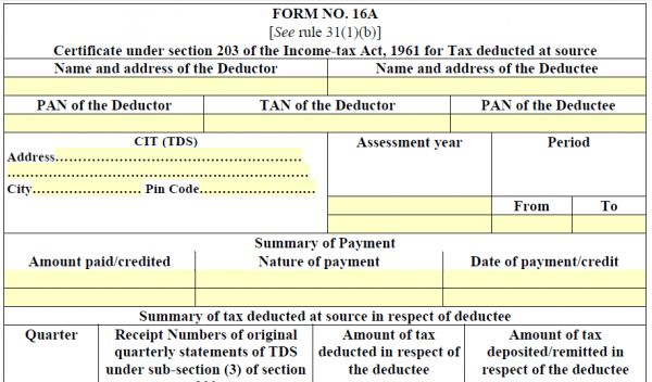 What is Form 16A u2013 how to verify its details Online #income #tax - income certificate form