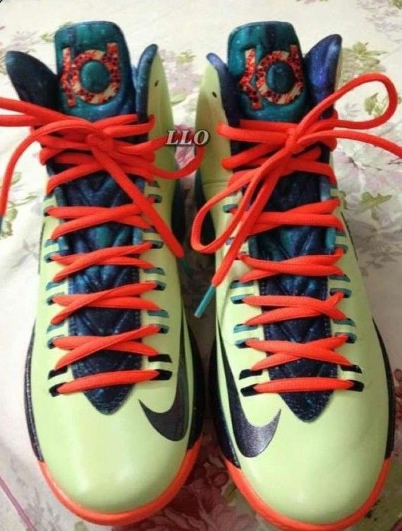 Cheap Online 2015 Nike Kevin Durant 2012 Bright Red Blue Sample