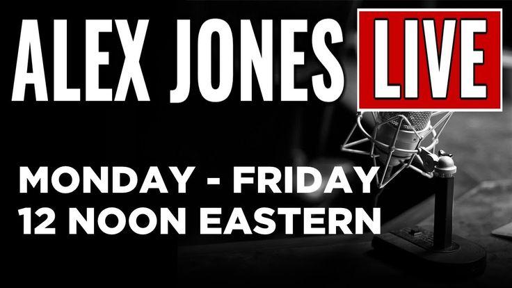 LIVE NEWS TODAY  Alex Jones Show ► 12 NOON ET • Thursday 9/21/17     ► ...