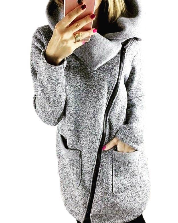 Shalena Oblique Zipper Funnel Neck Zip Up Hoodie  http://shalena.ca #women #fashion #onlineshopping #dresses #shoes #coat #love #life #american #canadian #australia #newzealand #uk #england #france #germany #spain  #latestfashion #beautiful #happy #pretty #colorful #sweet #bestquality #shopping #womenfashion  #followforfollow #follow4follow #f4f #ifollowbackalways