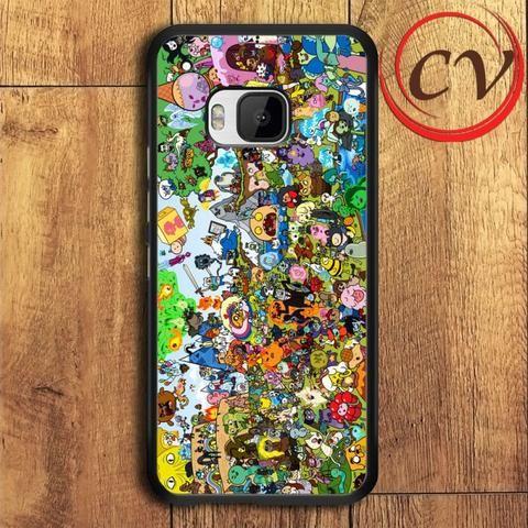 Adventure Time HTC One M9 Plus Black Case