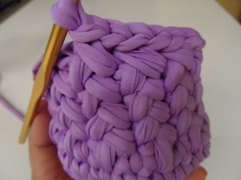 "❀ [Tutorial uncinetto #8] Pochette ""Margherita"" 