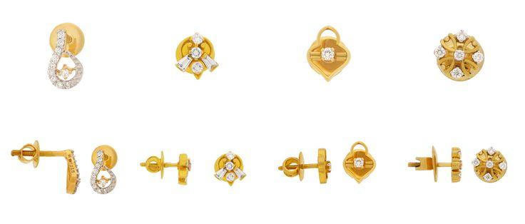Latest Designs in Diamond Earrings...