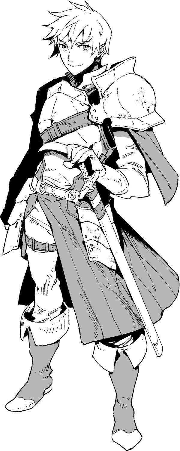 日ごろ漫画やゲームで慣れ親しんでいるファンタジーの世界 魅力的なキャラクターがたくさん登場しますよね そんなファンタジー世界観のイラストを描くためのコツを イラストレーターの天野英さん twitter にレクチャーしてもらいました 第1回は 剣士キャラの描き