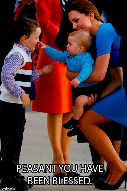 Prince George is absolutely precious!