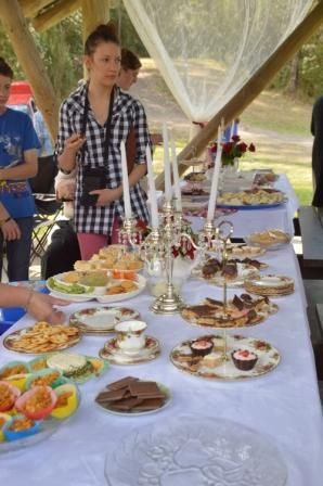 The baptism was followed by afternoon tea.
