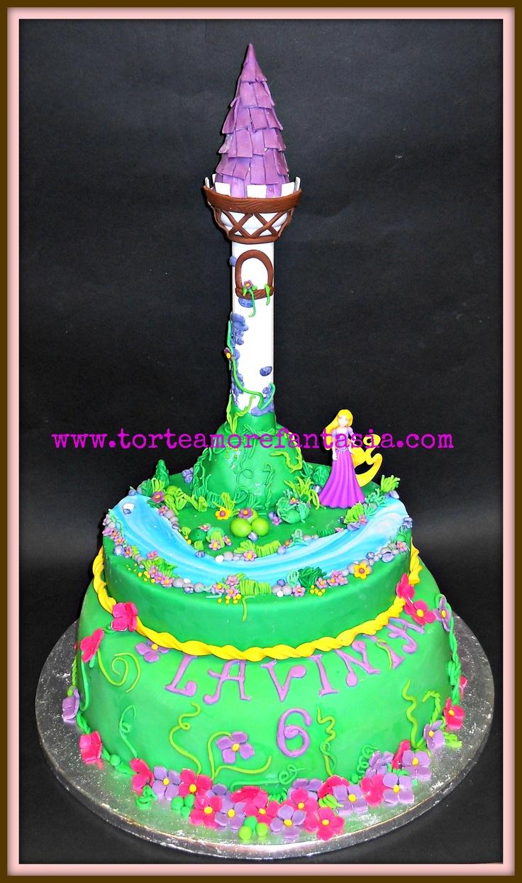 Rapunzel Cake by Torte Amore & Fantasia  www.torteamorefantasia.com