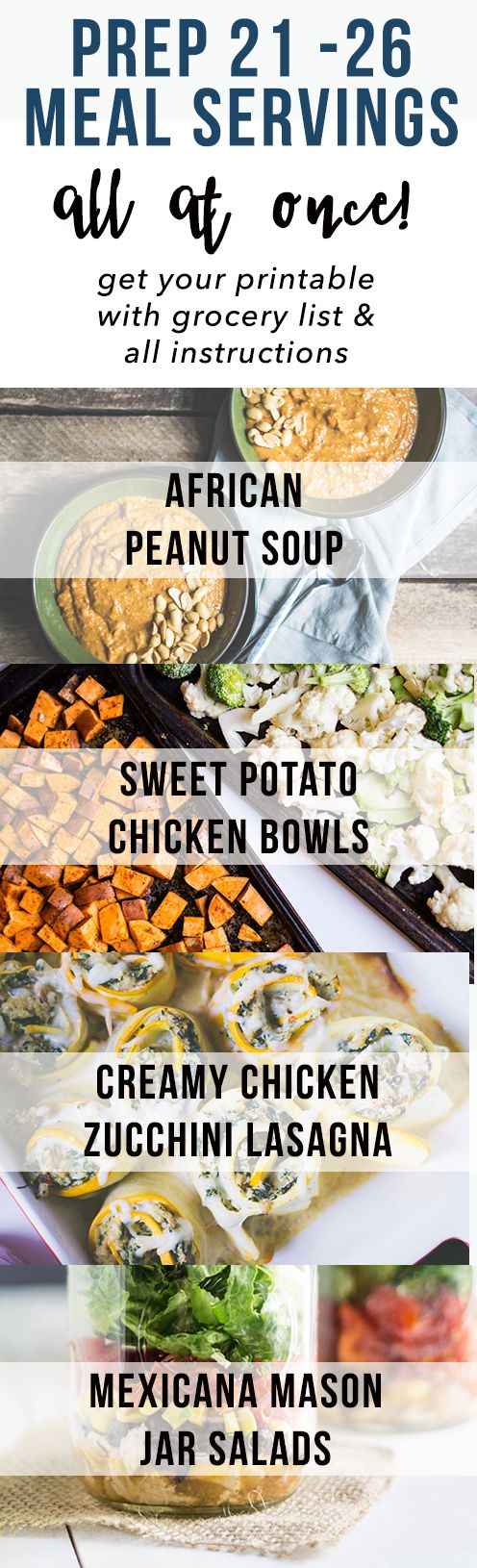 Make all your meals for the week at once! #batchcooking #batchcook #mealprep #me…