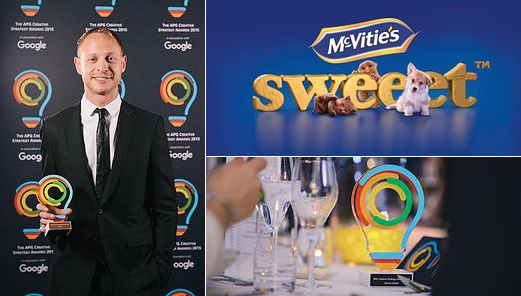 Congratulations to Daniel Sherrard winning a Bronze at the The Account Planning Group Creative Strategy Awards last week for his paper on McVitie's Sweeet™