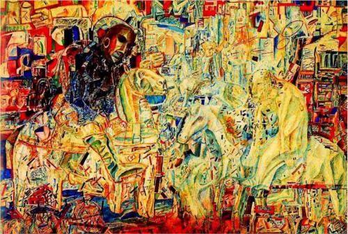 Horsemen - Pavel Filonov