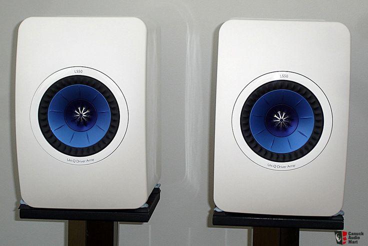 kef ls50 white. kef ls50 white o