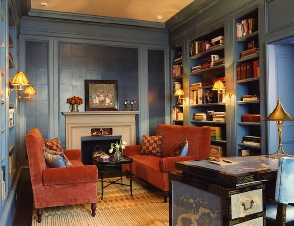 Perhaps a bit dimmer than the goal  http://hgtv.sndimg.com/HGTV/2011/11/21/DP_Kate-Ridder-Traditional-Red-Blue-Living-Room_lg.jpg