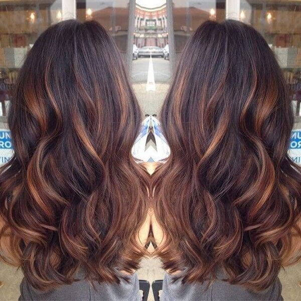 Incredible 17 Best Ideas About Brown Hair With Lowlights On Pinterest Hairstyle Inspiration Daily Dogsangcom