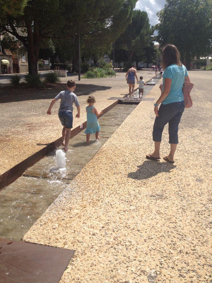 In Riberac Fountain
