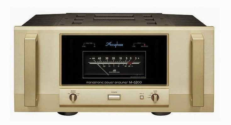 Mono and Stereo High-End Audio Magazine: ACCUPHASE M-6200 amplifier NEW