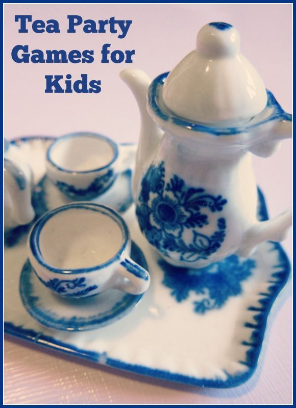 These fun Tea Party Games for kids will keep them entertained the whole party long!