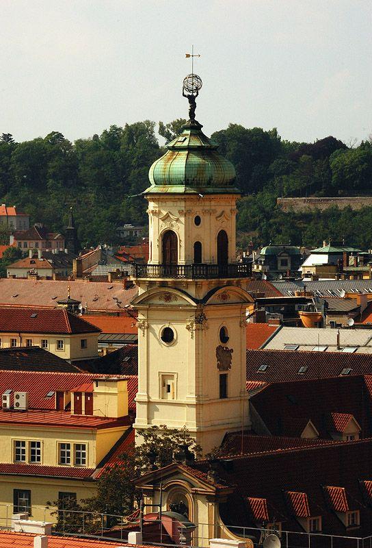 PRAHA STOVĚŽATÁ - virtualni prohlidka z prazskych vezi
