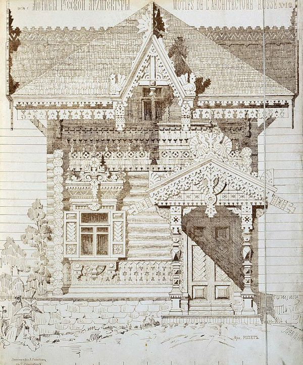 Motives of Russian architecture