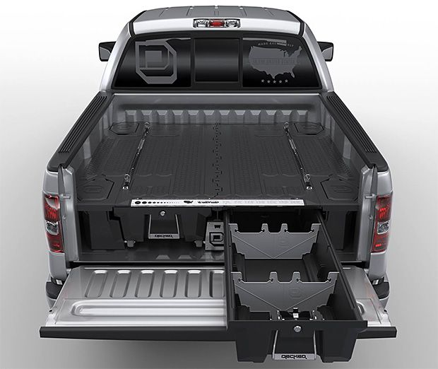 Find this Pin and more on Cool creations. Decked Truck Storage: ... - Best 10+ Truck Storage Ideas On Pinterest Campers For Trucks