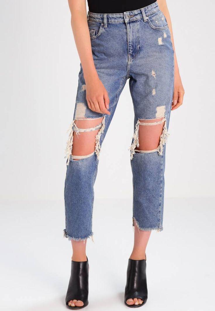 ONLY. ONLDAGNY - Jeans baggy - light blue denim. Avvertenze:Lavaggio a macchina a 40 gradi,Non asciugare in asciugatrice,Restringimento massimo del 5%. Lunghezza interna della gamba:68 cm nella taglia 27x32. Composizione:100% cotone. Dettagli:Fra...