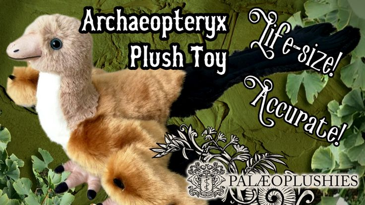 Help fund the production of a flock of accurate, life-size Archaeopteryx plush toys designed by Palaeoplushies.