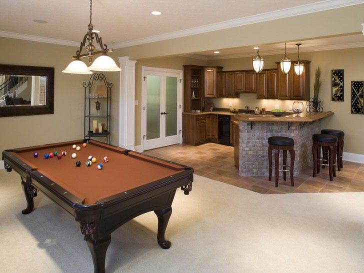 Using Small Basement Remodeling Ideas To Create An Amazing Basement:  Remarkable Unfinished Basement Decorating Ideas · Basement Family RoomsBasement  ...